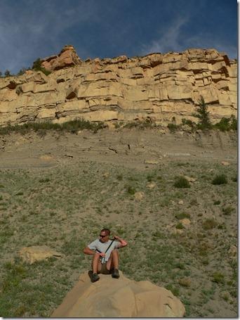 Al on Rock Mesa Verde 014
