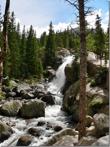 Abert Falls Rocky Mountain 001
