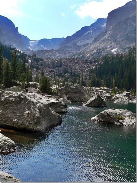 Lake Haiyaha Rocky Mountain 036
