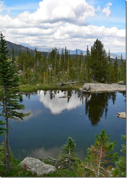 Unnamed Lake Rocky Mountain 012